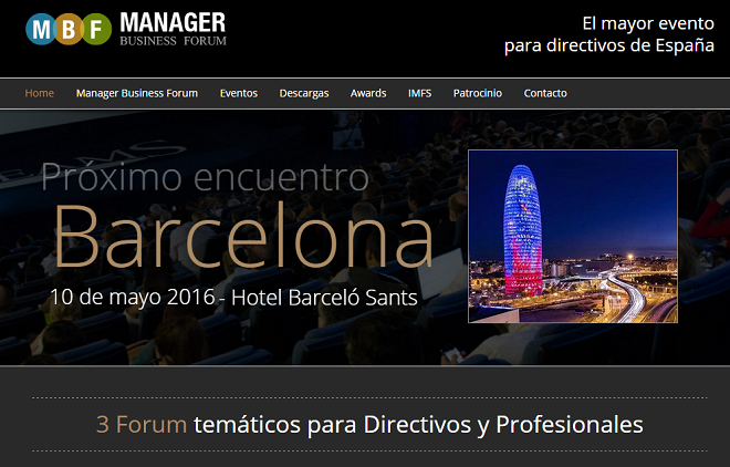 Manager Forum Barcelona